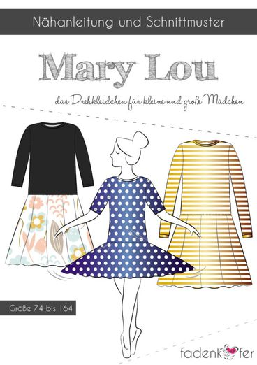 Kinder Kleid - Mary Lou - Papierschnittmuster