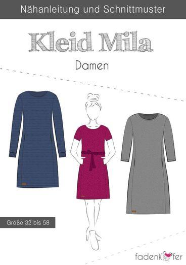 Damen Kleid - Mila - Papierschnittmuster