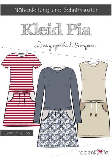 Kleid - Pia - Papierschnittmuster