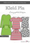 Kinder Kleid - Pia - Papierschnittmuster 001