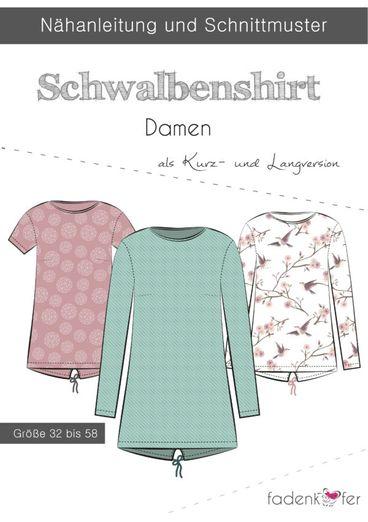 Shirt - Schwalbenshirt - Papierschnittmuster