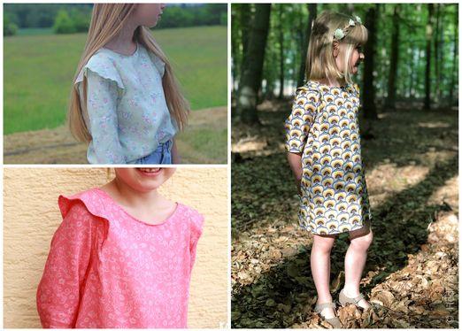 Kleid Bluse - Smilla - Schnittmuster eBook