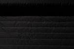 Spezialstoffe - Gesteppter Jackenstoff Nylon Wasserfest Uni Schwarz 001
