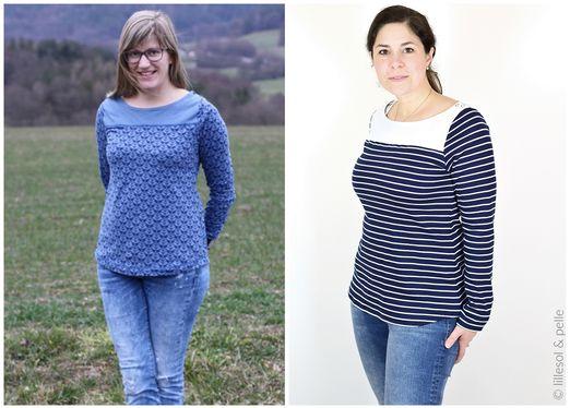 Frühlingskombi Kleid & Shirt - lillesol women No.18 - Schnittmuster eBook