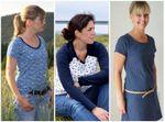 Raglan-Kleid & Shirt - lillesol women No.19 - Schnittmuster eBook 001