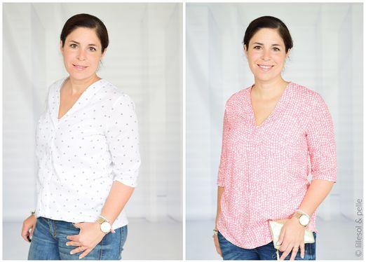 Marisol-Bluse - lillesol women No.30 - Schnittmuster eBook
