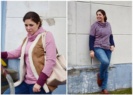 Shirt mit Kuschelkragen - lillesol women No.32 - Schnittmuster eBook