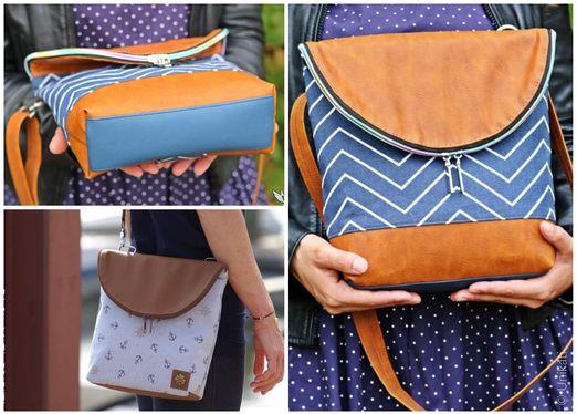 Tasche Kulturtasche - Canaria Bag - Schnittmuster eBook