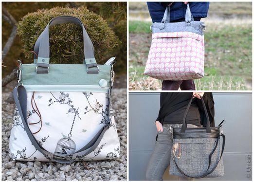 Tasche - Bag 2.0 Frühlingsliebe - Schnittmuster eBook