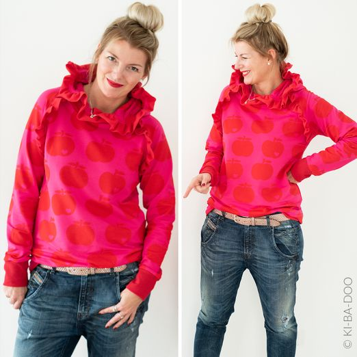 Sweater Hoodie - Mix&Match - Schnittmuster eBook