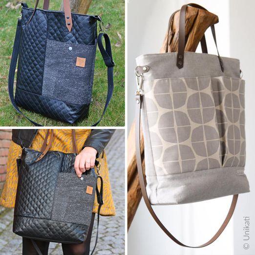 Tasche - Lia Bag - Schnittmuster eBook