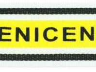Ripsband Nice gelb