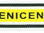 Ripsband Nice gelb 001