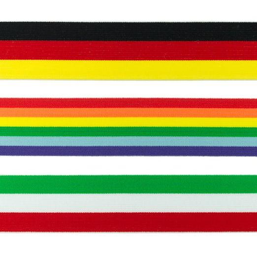 2m Gummiband Flagge 40mm