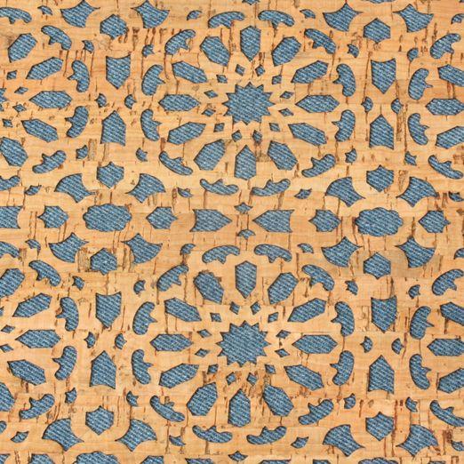 Kork Fabric jeans Mandala