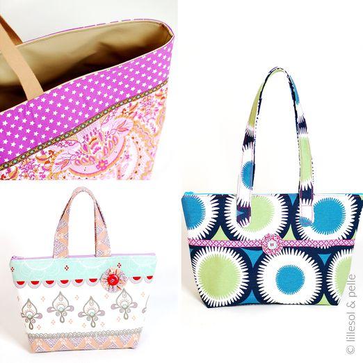 Handtasche - Basic Bag - Schnittmuster eBook