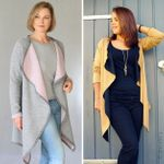 Cardigan - SALEA - Schnittmuster eBook 001