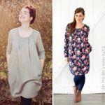 Damen Kleid - Amelie - Schnittmuster eBook 001