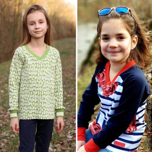 Kinder Pullover - Vicky - Schnittmuster eBook