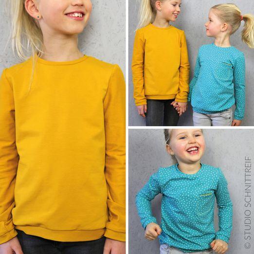Pullover mit Brusttasche - BENTE - Schnittmuster eBook