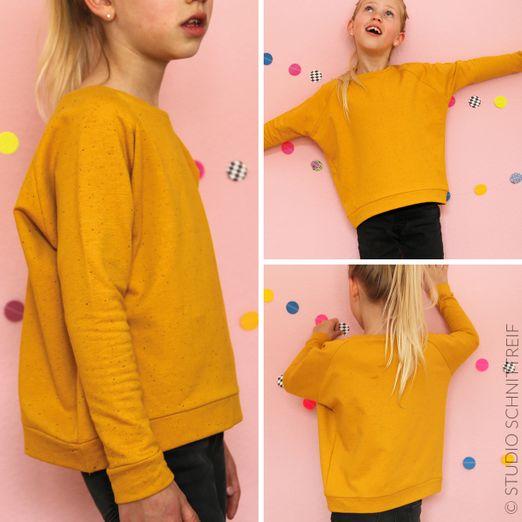 Raglansweater - MONA - Schnittmuster eBook