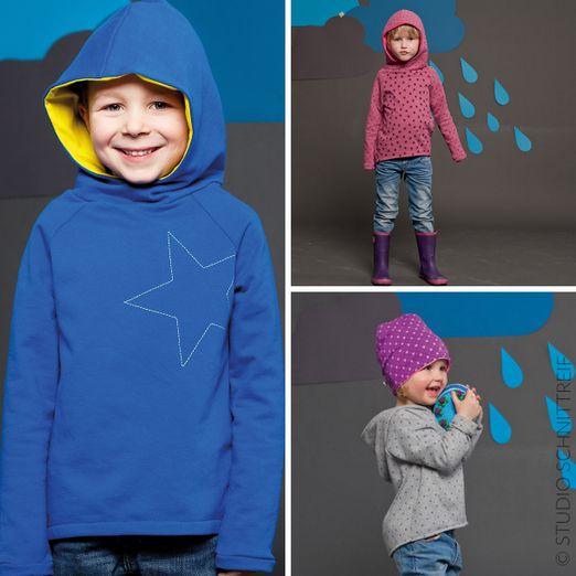 Kapuzensweater - TONI - Schnittmuster eBook