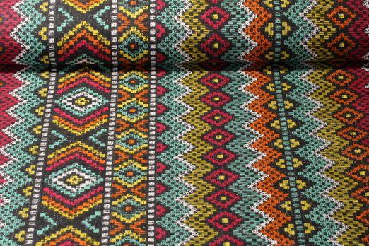 Baumwolle gemustert - Inkamix Multicolor