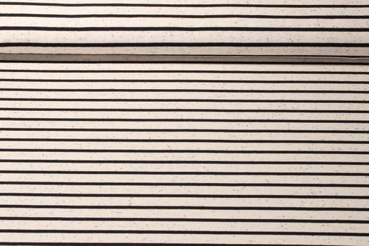 Jersey gestreift - Multicolor Stripes Small Schwarz Beige