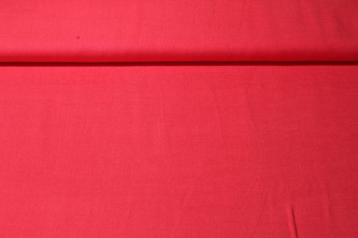 Viskose - Uni Rot