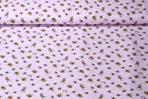 Baumwolle gemustert - Sum Sum Sum Rosa Multicolor