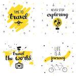 Bügelbilder Travel Quotes 001