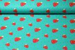 Jersey gemustert - Happy Strawberry Grün Multicolor 001
