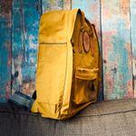 """""""Mein anderer Rucksack"""" aus Oilskin von Sigi  *Showroom* – Bild 3"""