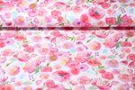 Jersey gemustert - Floral Scenery Weiß Multicolor 001