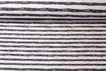 Jersey gestreift - Painted Stripe Grau Weiß 001