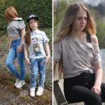 Shirt/Kurzpulli - Girlie Jaane - Schnittmuster eBook 001
