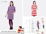 A-Linien-Kleid - Stacey - Papier-Schnittmuster 001