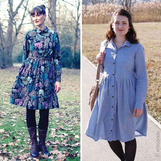 Hemdblusenkleid - Bella Dona - Schnittmuster eBook