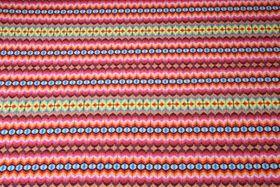 Jersey gemustert -  Digitalprint Yoeka Multicolor