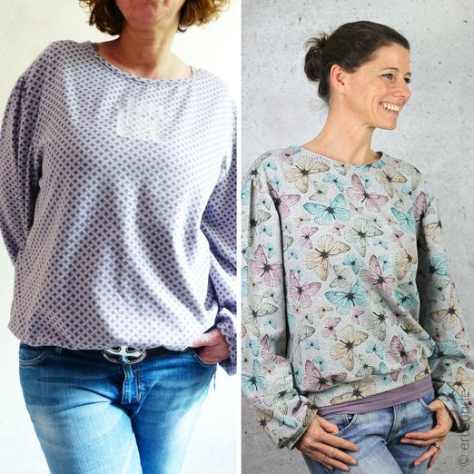 Bluse/Sweater - Dona Fofina - Schnittmuster eBook