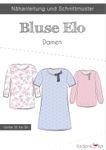Damen Bluse Tunika - Elo - Papierschnittmuster 001