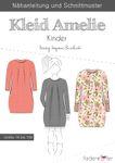 Kinder Kleid - Amelie - Papierschnittmuster 001