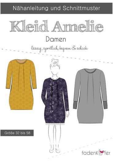 Damen Kleid - Amelie - Papierschnittmuster