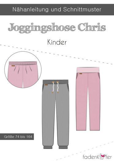 Kinder Jogginghose - Chris - Papierschnittmuster