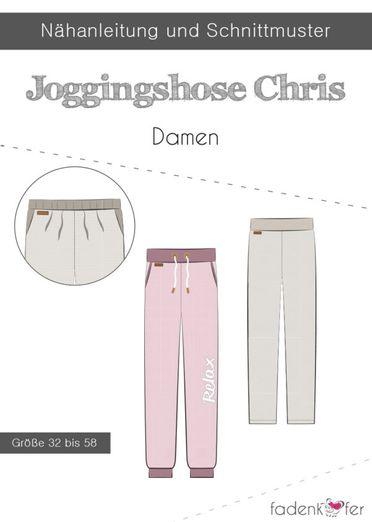 Damen Jogginghose - Chris - Papierschnittmuster