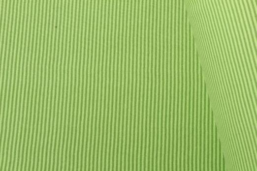 Bündchen geringelt - Mini Stripe Lime