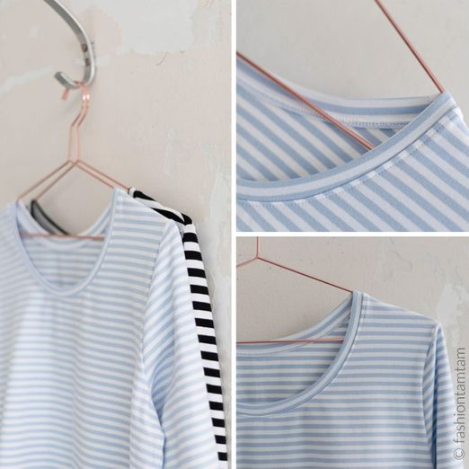 Damen Shirt - #longswag - Schnittmuster eBook