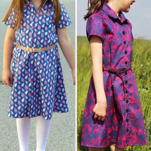 Hemdbluse & Kleid - lillesol basic No.68 Camisa - Schnittmuster eBook