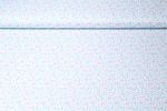 Baumwolle gemustert - Sterne Mint Multicolor 001