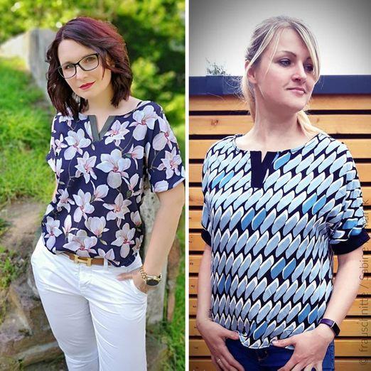 Shirtbluse - Bente - Schnittmuster eBook